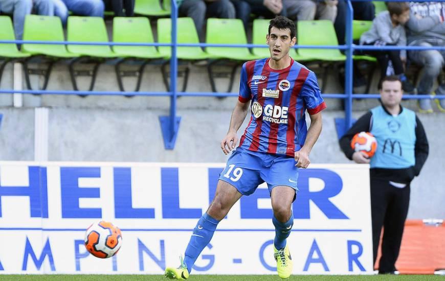 Felipe Saad aura évolué durant deux saisons sous les couleurs du Stade Malherbe Caen