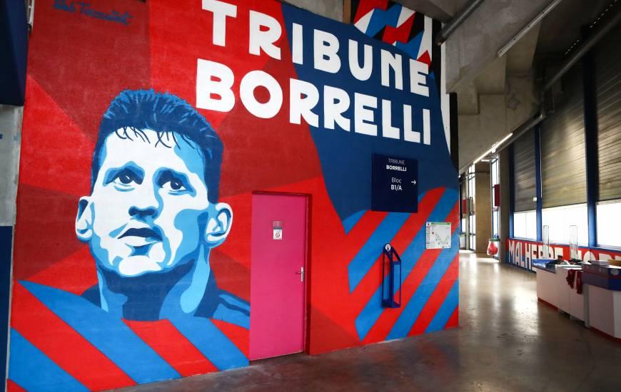 Sébastien Toussaint a travaillé pendant près de 15 jours dans les travées de la tribune Luc Borrelli