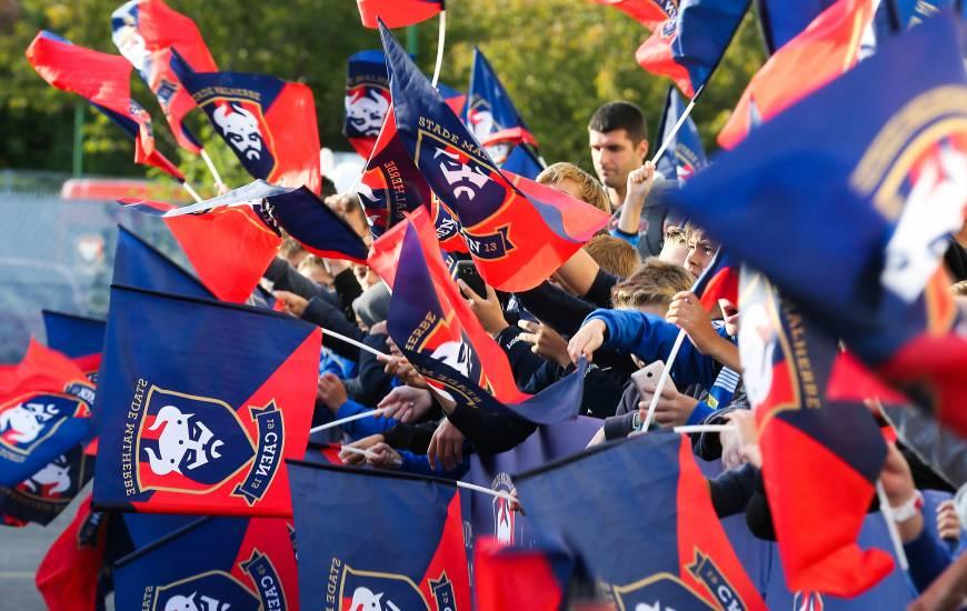 Les joueurs du Stade Malherbe Caen arriveront sur l'esplanade du Stade Michel d'Ornano aux alentours de 19h