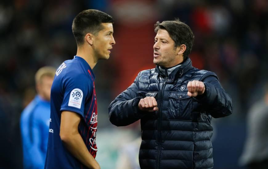 Stef Peeters va retrouver Fabien Mercadal qui est actuellement l'entraîneur du Cercle de Bruges
