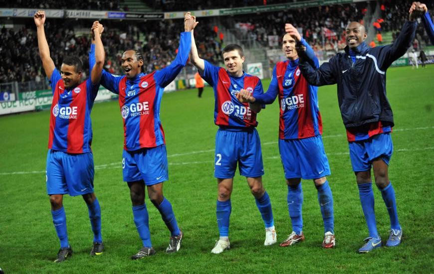 Le Stade Malherbe Caen avait réalisé un parcours proche du sans-faute à domicile lors de cette saison 2009 / 2010