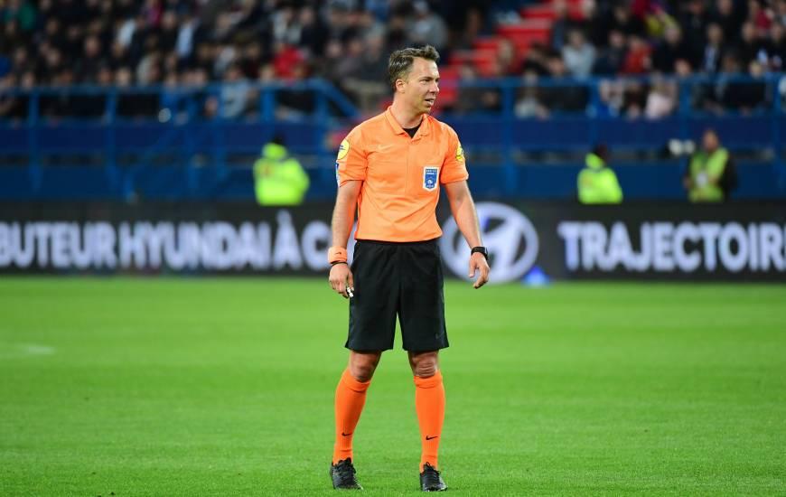 Johan Hamel avait arbitré deux rencontres du Stade Malherbe Caen la saison dernière en Ligue 1 Conforama