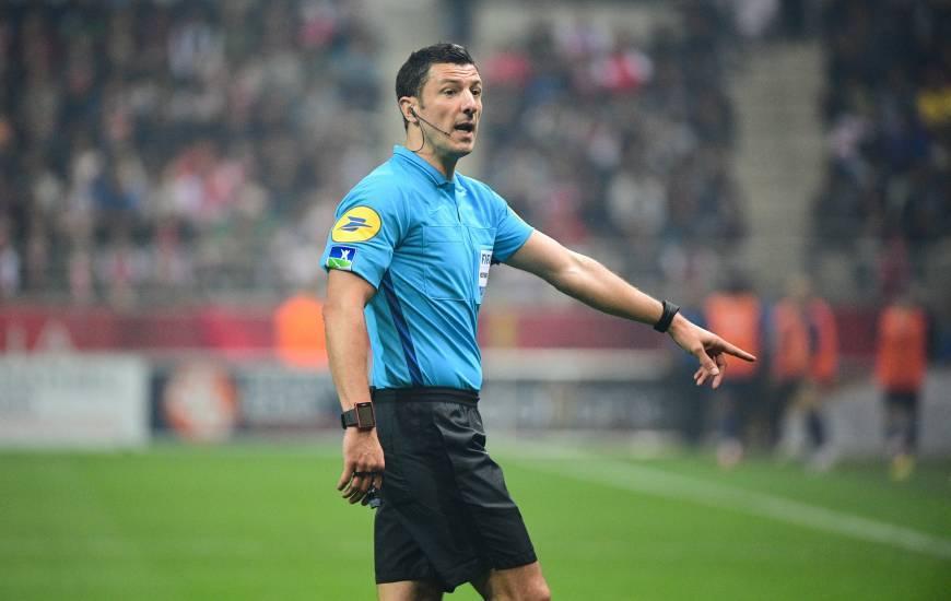 Nicolas Rainville avait arbitré les caennais à deux reprises en Ligue 1 Conforama la saison dernière
