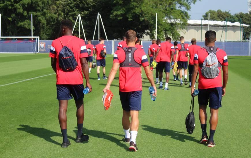 Les joueurs du Stade Malherbe Caen ont retrouvé le chemin de l'entraînement lundi en fin de journée