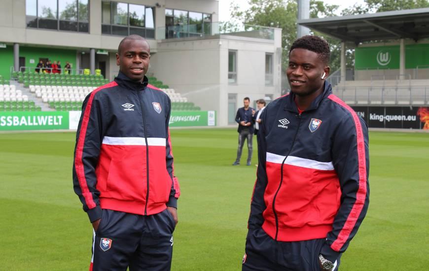 Brice Samba, Prince Oniangué et les caennais sont à Wolfsburg cet après-midi pour le second match de préparation