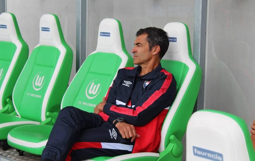 La composition de Rui Almeida pour débuter cette rencontre face aux allemands du VFL Wolfsburg