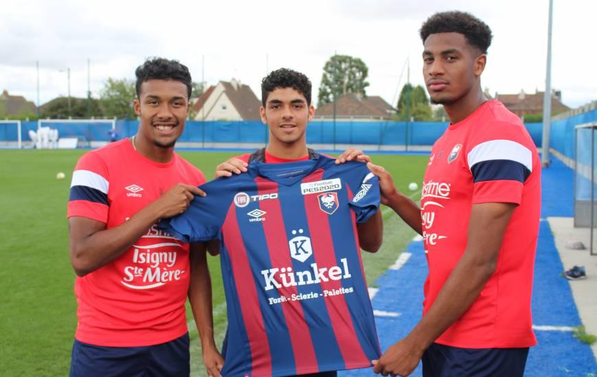 Les joueurs du Stade Malherbe Caen joueront avec ce maillot demain soir face à l'AS Nancy-Lorraine lors du premier tour de la Coupe de la Ligue
