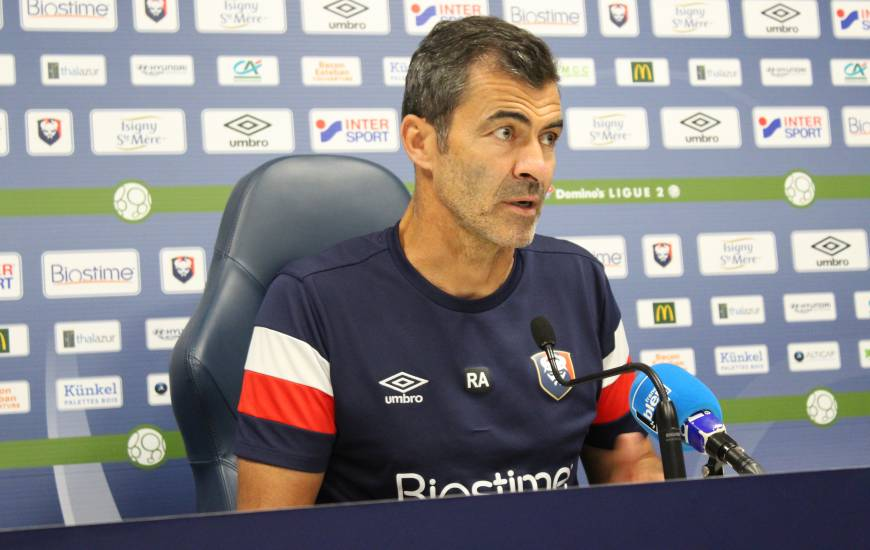 Rui Almeida a évoqué l'apport des nouveaux joueurs offensifs qui ont rejoint l'effectif du Stade Malherbe Caen