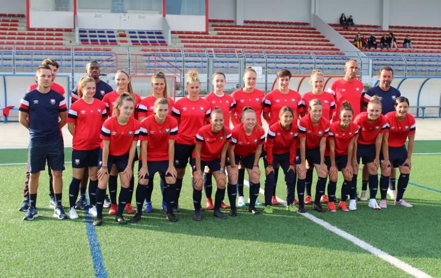 Les seniors féminines du Stade Malherbe Caen disputent ce week-end le premier tour national de la Coupe de France