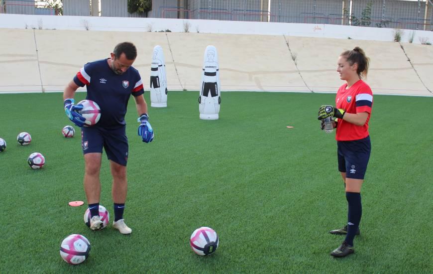 Venez participer à la porte ouverte pour les gardiennes de but avec Yann Chevalier et les joueuses du Stade Malherbe