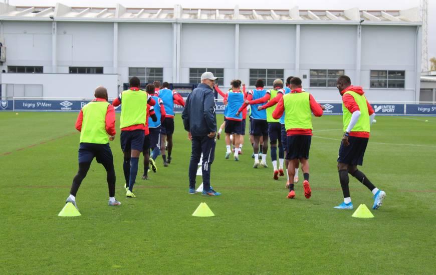Après un week-end de repos, le Stade Malherbe Caen débute une nouvelle semaine pour préparer le 7e tour de Coupe de France
