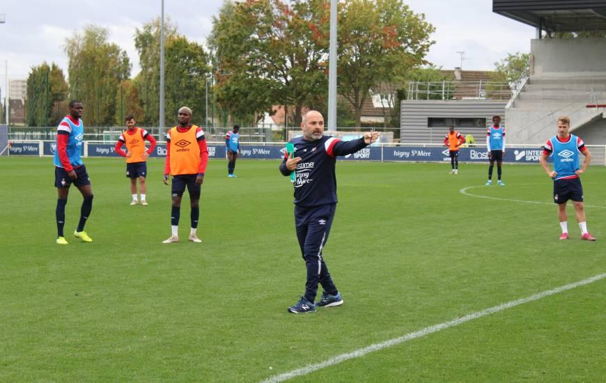 Pascal Dupraz dirigera sa troisième séance avec le Stade Malherbe Caen, la dernière avant la réception de Châteauroux