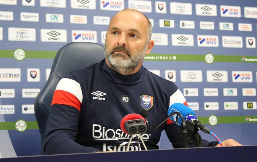 Pascal Dupraz sera pour la première fois sur le banc de touche du Stade Malherbe Caen demain soir