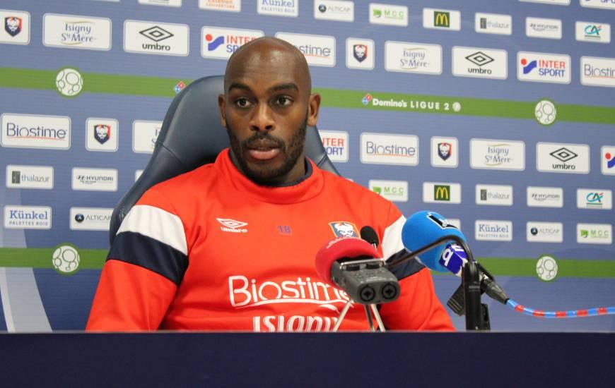 Jonathan Rivierez pourrait enchaîner un onzième match en tant que titulaire demain soir face à Valenciennes