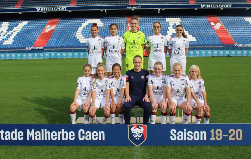 Les U13 de Chloé Charlot se rendront à Falaise demain après-midi dans le cadre du championnat