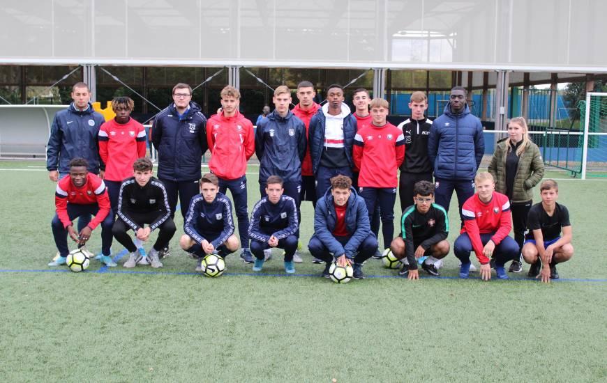 19 stagiaires ont participé au module U9 organisé par le Stade Malherbe Caen et la Ligue de Football de Normandie