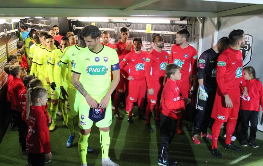 Anthony Weber et les Caennais ont fait respecter la hiérarchie face à l'ASI Mûrs-Érigné à l'occasion du 7e tour de la Coupe de France