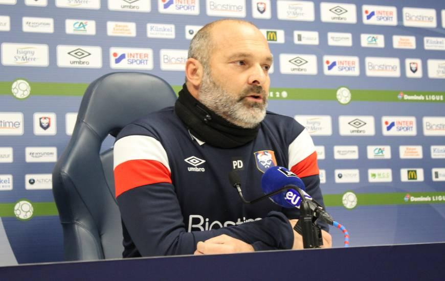 Pascal Dupraz a évoqué le manque de maîtrise lors des derniers matchs du Stade Malherbe Caen