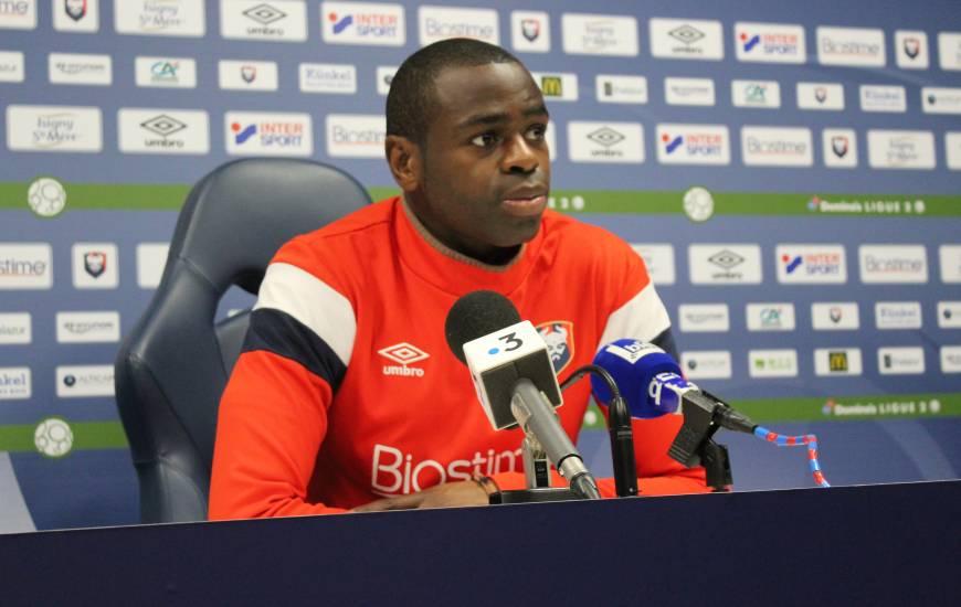 Prince Oniangué s'est montré décisif à plusieurs reprises lors des derniers matchs du Stade Malherbe Caen