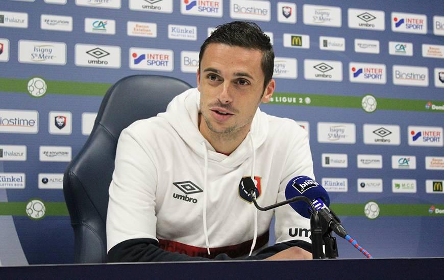 Jessy Pi a évoqué les trois derniers matchs sans défaite du Stade Malherbe Caen et veut trouver le chemin de la victoire à d'Ornano