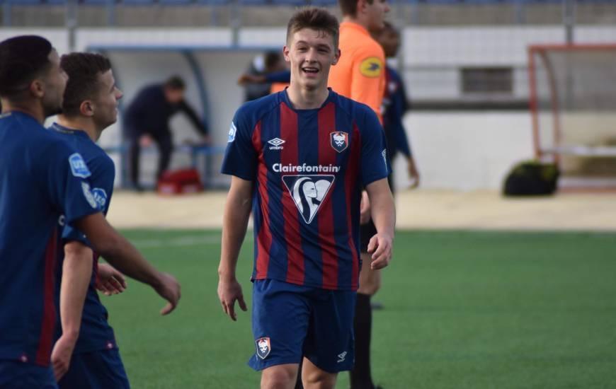 Johann Lepenant et les U19 s'imposent 4-0 face au RC Lens