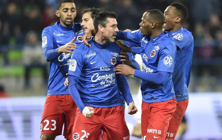 Le Stade Malherbe Caen avait concédé seulement 6 matchs nuls lors de la saison 2015 / 2016, plus faible total du championnat