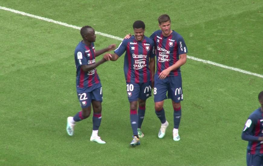 Arrivé il y a quelques jours au Stade Malherbe Caen, Jordan Tell a offert la victoire aux Caennais face au FC Nantes en amical