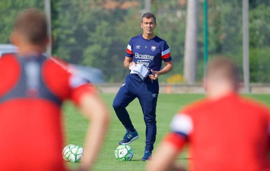 La première composition du Rui Almeida avec le Stade Malherbe Caen pour le match amical face au Stade Lavallois