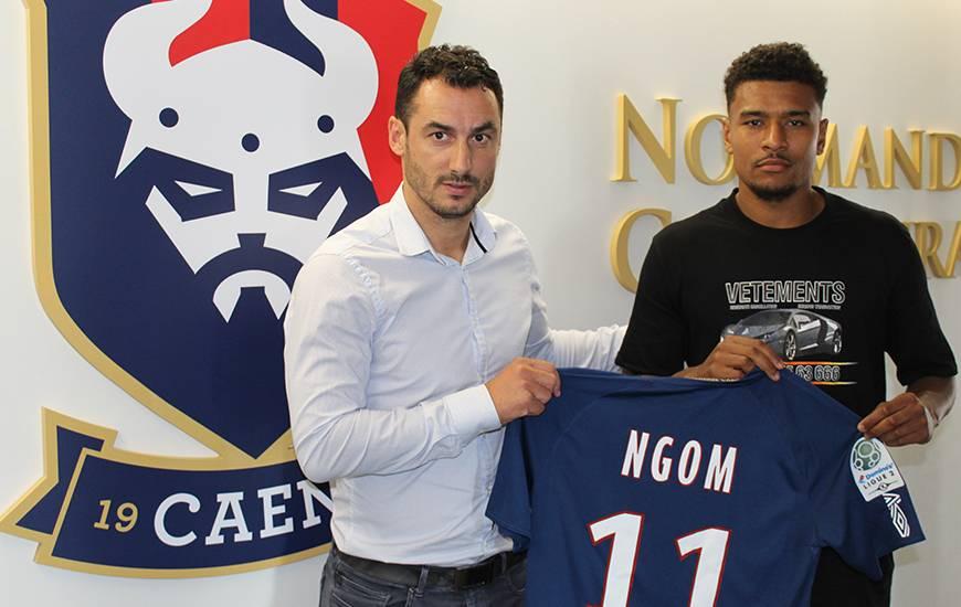 À un an de la fin de son contrat du côté du FC Nantes, Santy Ngom s'est engagé pour trois ans avec le Stade Malherbe