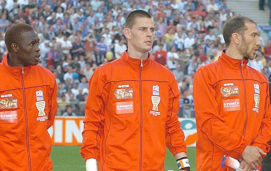 Vincent Planté était titulaire dans le but du Stade Malherbe tout au long du parcours en Coupe de la Ligue