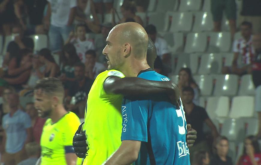 Avec 6 arrêts réalisés face à l'AC Ajaccio, le portier Caennais a été élu homme du match pour sa première sous le maillot du SMC