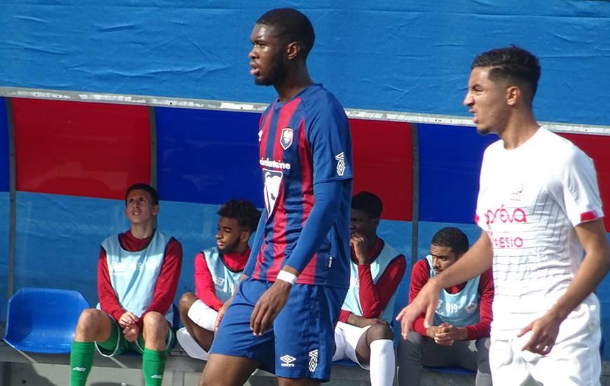 Kévin Mbala a inscrit son premier but de la saison en égalisant en toute fin de rencontre face au LOSC