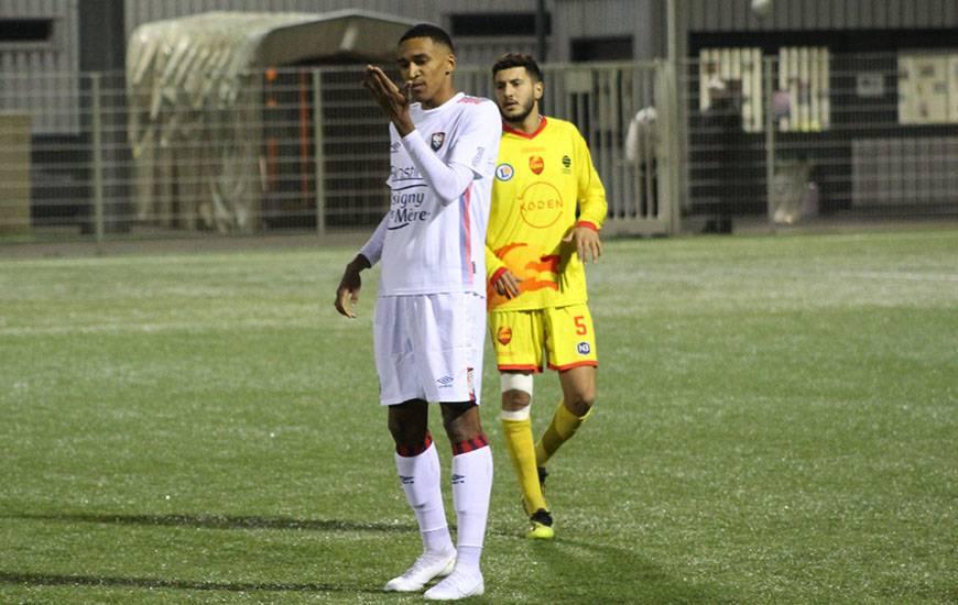 Andréas Hountondji et les Caennais n'ont pas réussi à revenir au score face à la réserve de QRM samedi soir