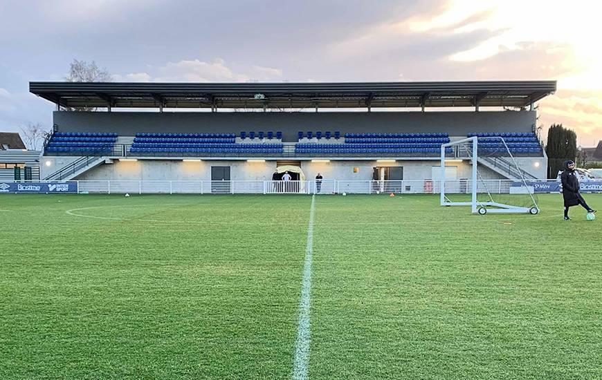 La nouvelle tribune de l'annexe 3 sera inaugurée demain en fin de journée à l'occasion de SM Caen / US Alençon