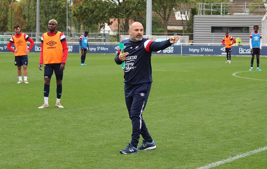 Pascal Dupraz a dirigé ce mardi matin sa première séance avec son staff à la tête du Stade Malherbe Caen