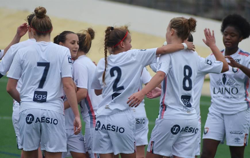 Premières en Régional 2 toute au long de la saison, les féminines évolueront au niveau supérieur la saison prochaine