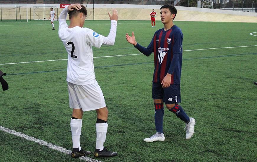 Souheil El Messbahi et les Caennais ont dû s'incliner face à l'ancien club du milieu de terrain caennais