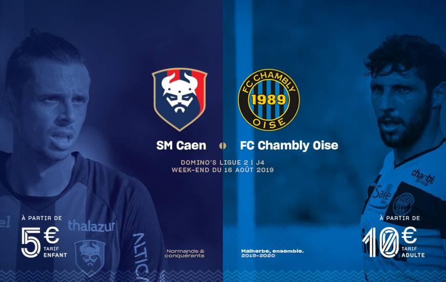 [4e journée de L1] SM Caen - FC Chambly Oise Smc_19-20_billeterie_visuel_chambly