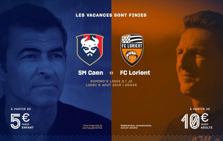[2e journée de L2] SM Caen 1-2 FC Lorient Smc_19-20_billeterie_visuel_fcl