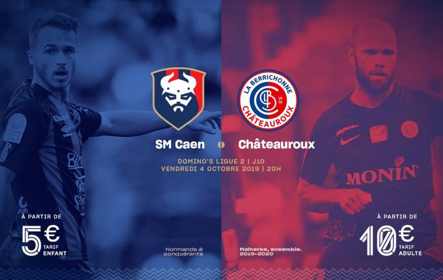 [10e journée de L2] SM Caen 1-1 LB Châteauroux Smc_19-20_billeterie_visuel_lbc