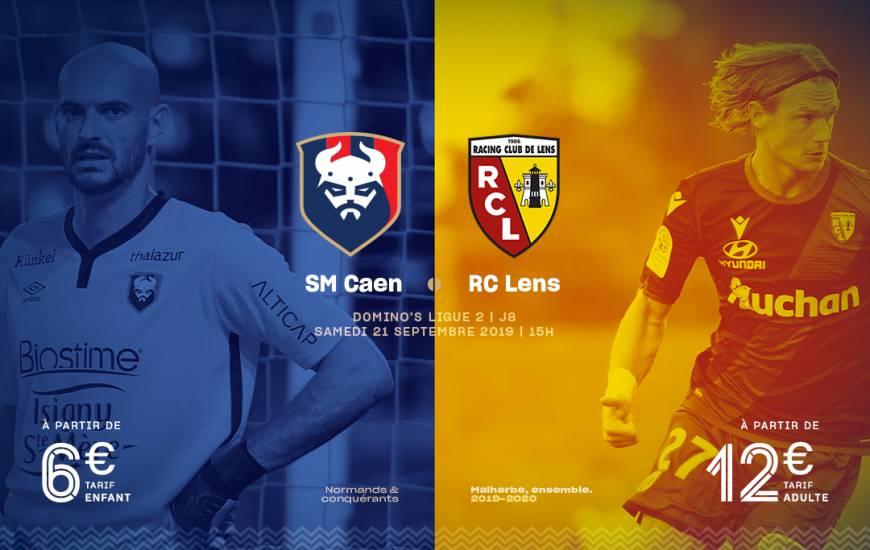 [8e journée de L1] SM Caen 0-2 RC Lens Smc_19-20_billeterie_visuel_rcl