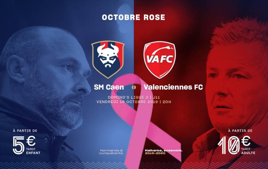 [11e journée de L2] SM Caen 0-0 Valenciennes FC Smc_19-20_billeterie_visuel_vafc