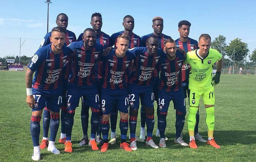 Le premier onze titulaire aligné par Rui Almeida à l'occasion du match amical face au stade Lavallois