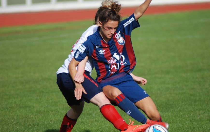 Pauline Bisson et ses partenaires vont devoir hausser leur niveau de jeu contre l'US Alençon.