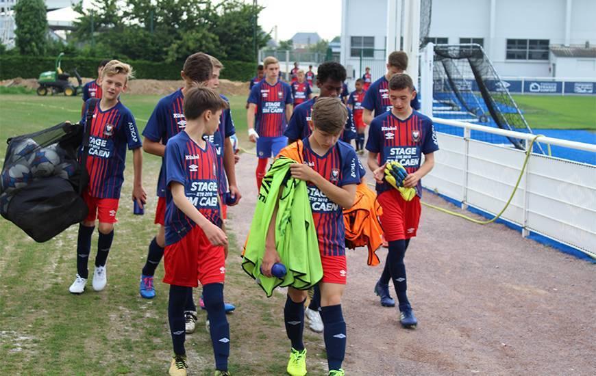 Comme souvent, le stage foot du Stade Malherbe Caen devrait faire le plein très rapidement
