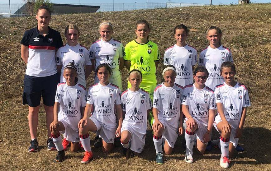 Les U13 de Chloé Charlot ont remporté leur premier match de championnat ce week-end face à l'ASPTT Caen