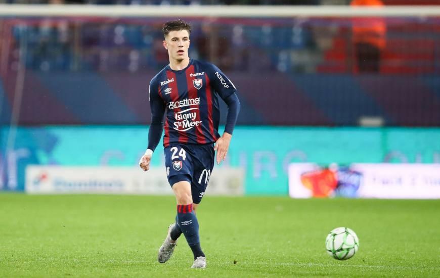 Hugo Vandermersch a disputé les quatre dernières rencontres du Stade Malherbe Caen en intégralité