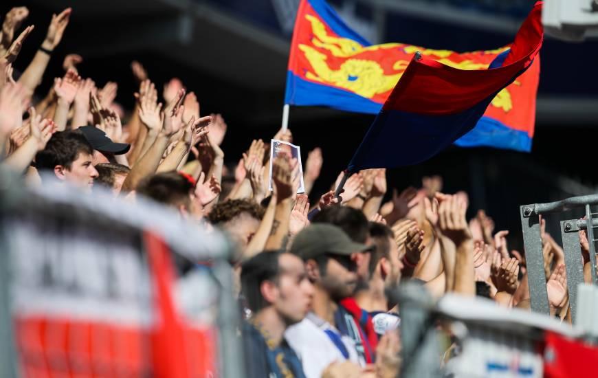 Déplacement le plus court depuis le début de la saison pour le Stade Malherbe Caen et ses supporters