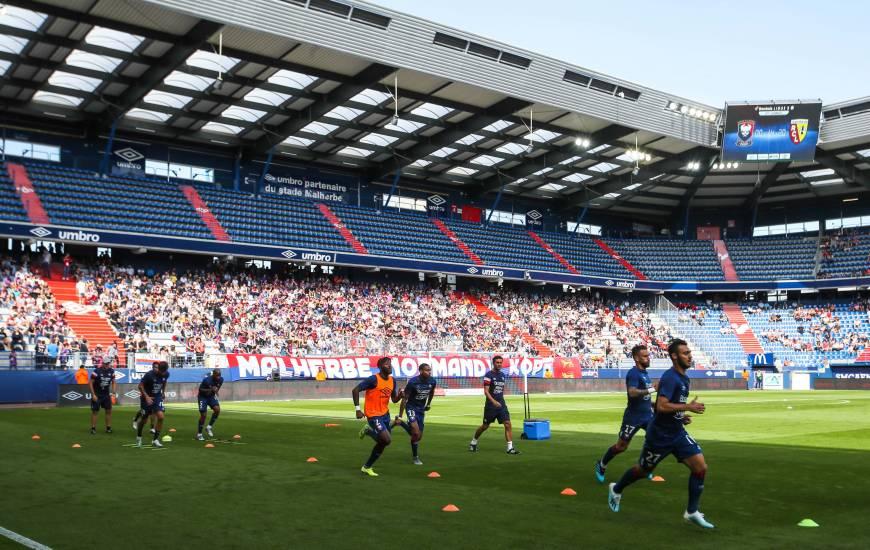 La Stade Malherbe Caen reçoit pour la septième fois de la saison au stade Michel d'Ornano à l'occasion de la 13e journée