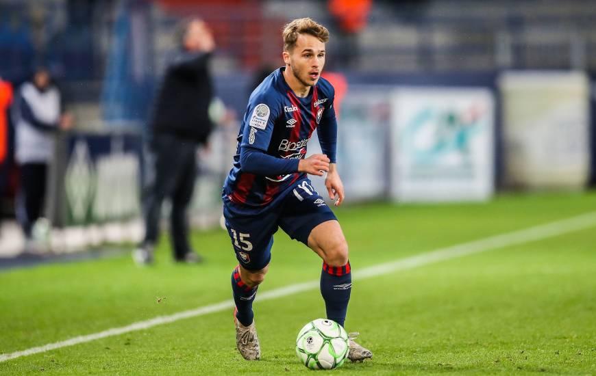 """Arrivé en 2017 au Stade Malherbe Caen, Jan Repas aura disputé 32 matchs en professionnel avec les """"rouge et bleu"""""""